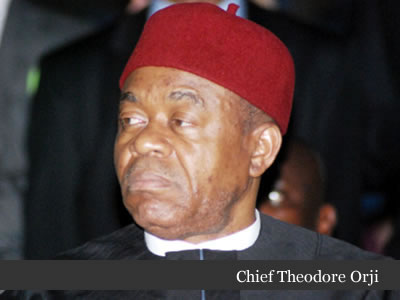 Governor T. A Orji Booed And Pelted At Bishop Ezeonyia's Burial In Aba