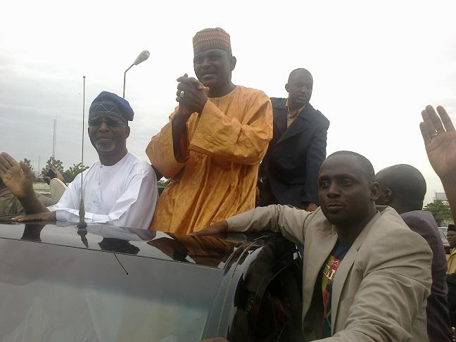 Major General Hamza Al-Mustapha launches new political party