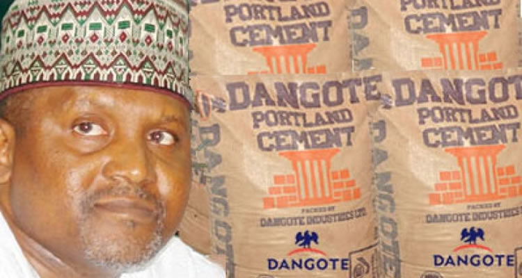 Dangote ends Nigeria's Cement importation…exports 0.4m metric tons cement to neighboring countries