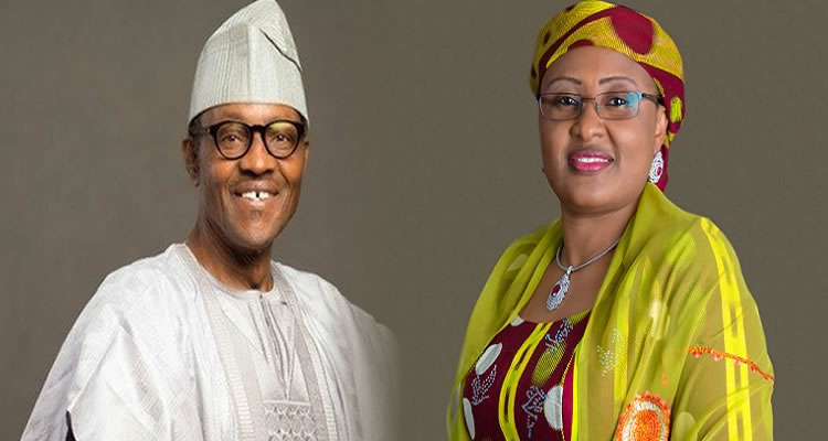 buhari and his wife