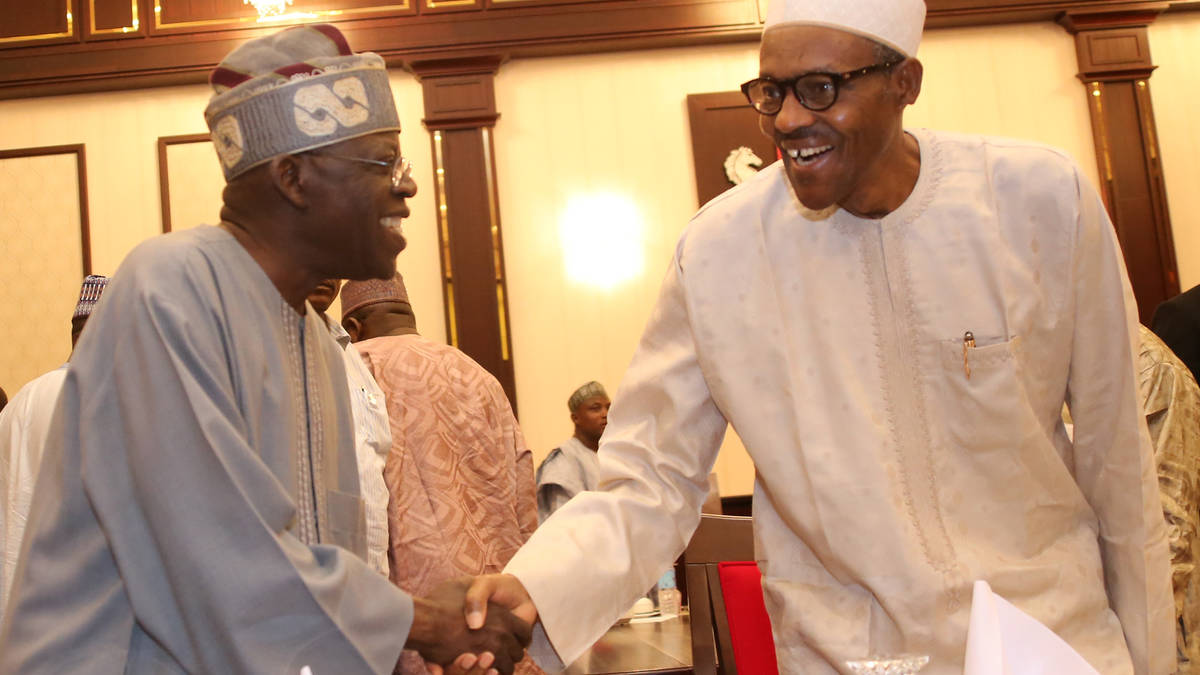 Image result for Buhari Appoints Tinubu