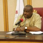 Wike in office