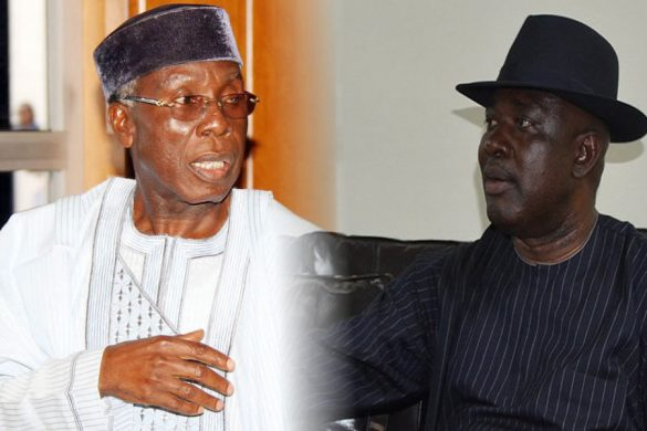 Audu Ogbe and  Lokpobiri
