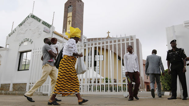 Image result for Nigerian christians in the church