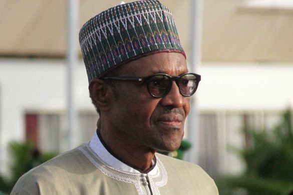 President-Muhammadu-Buhari-on-arrival-at-Abuja