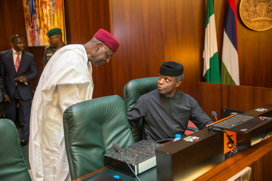 2. Ag. President Presided over FEC, 28th June. BY Novo Isioro35
