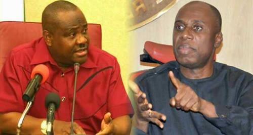 """LEAKED AUDIO: Amaechi Says Wike Accused Him of Placing """"Juju"""" In Rivers  $50million Bombardier Jet…It's A Lie-Wike - Pointblank News"""